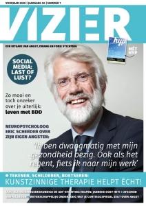 Cover tijdschrift Vizier voorjaar 2020